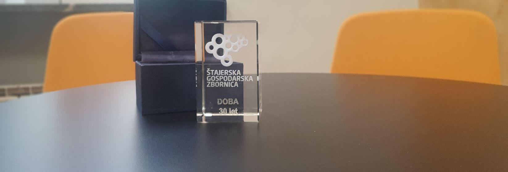 Nagrada Štajerske privredne komore DOBI povodom 30. godišnjice